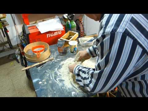 preparazione sabbia
