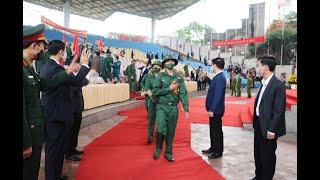 Uông Bí: Giao nhận quân đợt 2 năm 2021