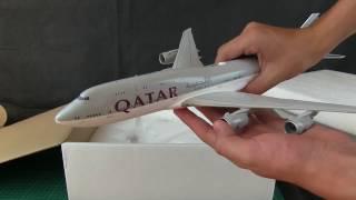 Video *Limited Edition* UNBOXING Qatar Airways Boeing 747-8i VIP MP3, 3GP, MP4, WEBM, AVI, FLV Juni 2018