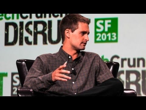 Snapchat Founder On Making Messages Disappear | Disrupt SF 2013
