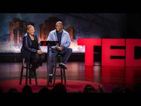 A mother and son united by love and art | Deborah Willis and Hank Willis Thomas (видео)