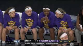 Mikaela Shaw (#22) NCAA1 Game 2016-17'