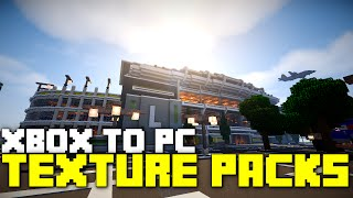 Xbox 360 Texture Packs on PC Minecraft! Los Dangeles in City Texture Pack on PC!