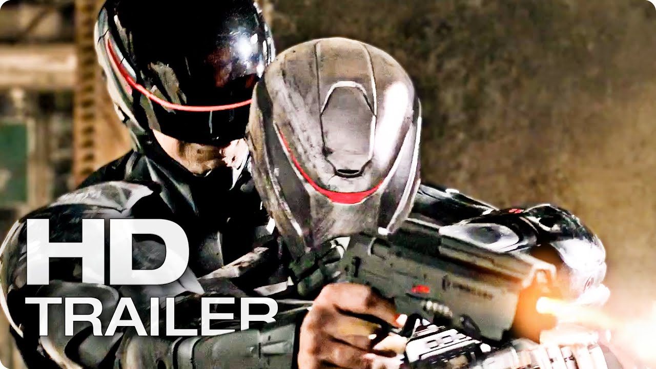 ROBOCOP Trailer Deutsch German | 2014 [HD]