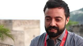 Alessio Lauria con A mezzanotte all'Ischia FIlm Festival 2018