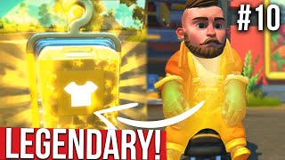 LEGENDARY OUTFIT FROM WAREHOUSE RAID!! - SCRAP MECHANICS SURVIVAL #10