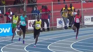 Video Taylor gets baton 30m behind Trinidad, Did he chase him down? MUST SEE Carifta 2017 MP3, 3GP, MP4, WEBM, AVI, FLV Januari 2019