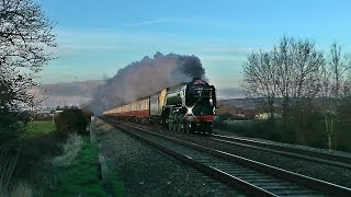 Only a week after her stint on the British Pullman, 60163 'Tornado' would once again be answering the call to action, hauling 'The Red Rose. This run would s...