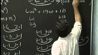 Lecture 26: Beginning Algebra (Math 70)