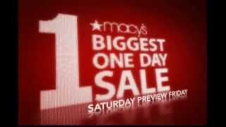 MACY'S One Day Sale - Alex Sayhi Macy's TVC For USA