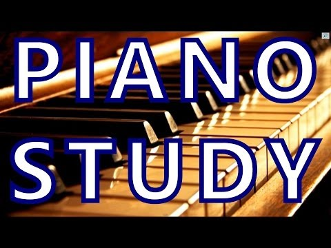 """Homework Music"" to HELP You Study: concentration piano music, classical music for brain power"