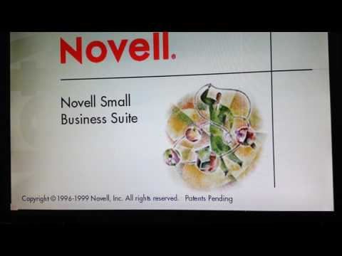 Novell Netware 5 server