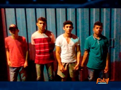 Roubo é evitado em Goiatins e 4 suspeitos são presos graças ao serviço de inteligência da PM