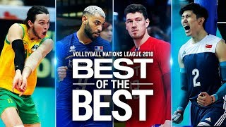 Best of the Best | STATISTICS | Volleyball Nations League 2018