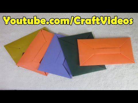 How to make an Origami Envelope for teachers day