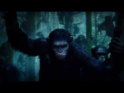 Dawn of the Planet of the Apes (2014) - Blu-ray menu