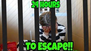 Video Box Fort Jail! 24 Hours To Escape! MP3, 3GP, MP4, WEBM, AVI, FLV Agustus 2018
