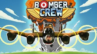 Bomber Crew - Bombing The Enemy Base! - Sub Hunt & Ammo Factory - Bomber Crew Gameplay Part 2