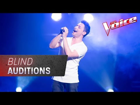 The Blind Auditions: Wolf Winters Sings 'The Sound Of Silence' | The Voice Australia 2020