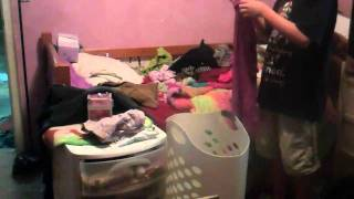 Cleaning room time lapse (3-6-11)