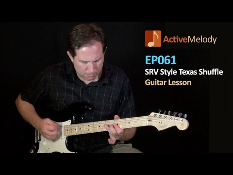 guitar - To download the tablature, MP3 jam tracks (2 tempos), and for the 2nd video for this lesson, be sure to visit: http://www.activemelody.com/lessons/free_lesson_content/srv-stevie-ray-vaughan-style-t...