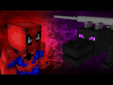 Spiderman VS Enderdragon - Minecraft Mob Battle! (1.7 Mod)