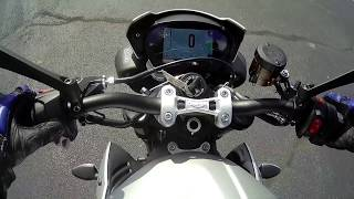7. 2018 Triumph Street Triple R First Ride from pilot, Nate Jennings, prospective