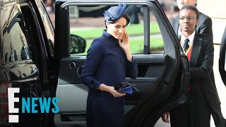 How Meghan Markle Hid Her Royal Baby Bump | E! News