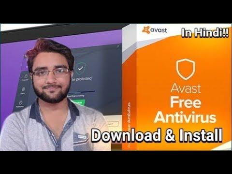 Avast Free Antivirus (2018)!! Download & Installation!!! In Hindi!!