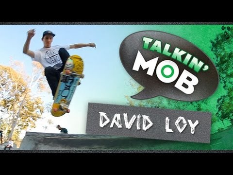loy - David Loy takes a break from destroying the skatepark to let us know why he rides Mob Grip in this episode of Talkin' Mob. It's the grippiest.