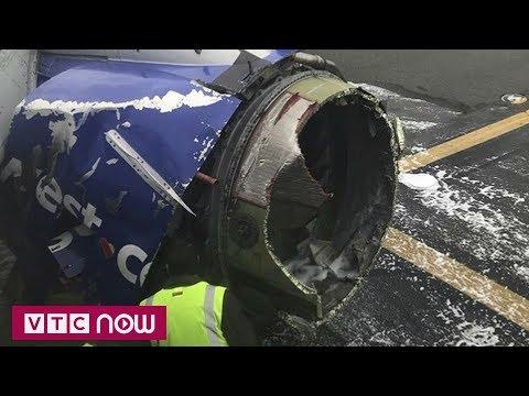 Mỹ: Máy bay nổ động cơ, khách bị hút ra ngoài  | VTC1 - Thời lượng: 98 giây.
