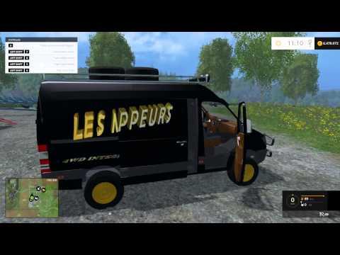 Mercedes Sprinter les mappeurs v2.0