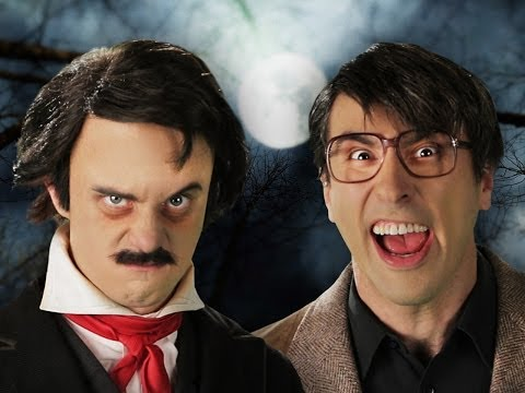 Stephen King vs Edgar Allan Poe. Epic Rap Battles of History Season 3. (видео)