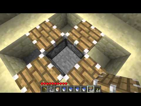 Cobblestone Factory -- Minecraft Advanced Cobblestone Generator -- 99.9% Collection Ratio