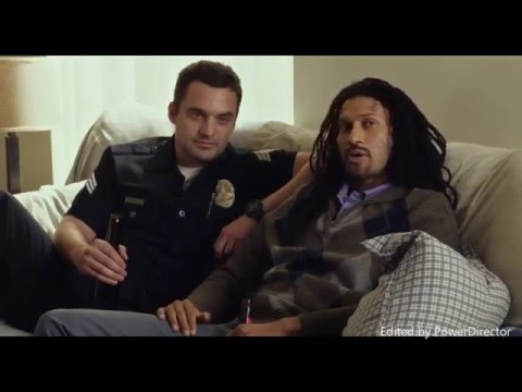 Let's Be Cops Funniest Scenes