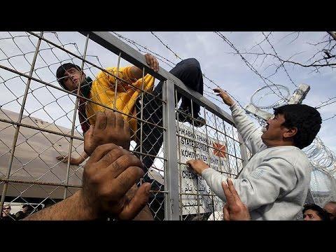 Χιλιάδες εγκλωβισμένοι Αφγανοί πρόσφυγες και μετανάστες στα σύνορα Ελλάδας-ΠΓΔΜ