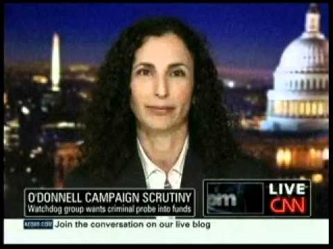 Melanie Sloan Discusses Christine O'Donnell with Anderson Cooper
