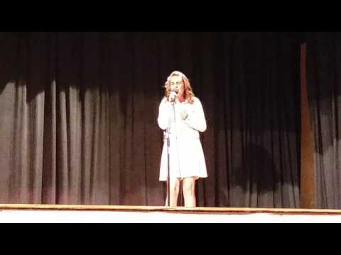 Piece by Piece by Kelly Clarkson (Cover by Genesis) Talent Show