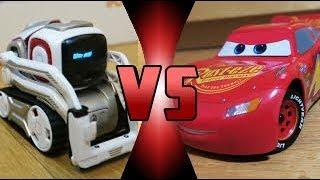 Video ROBOT DEATH BATTLE! - Cozmo VS Ultimate Lightning McQueen MP3, 3GP, MP4, WEBM, AVI, FLV Juni 2018