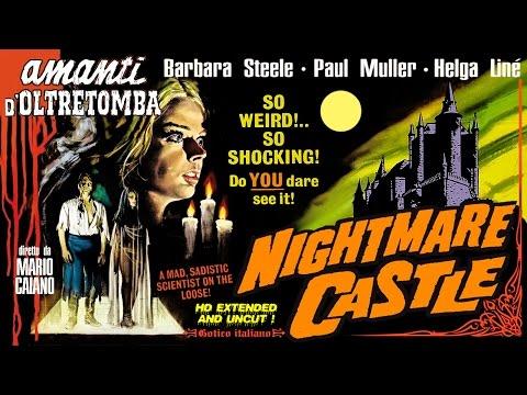 Nightmare Castle (1965) Trailer - B&W / 1:22 mins