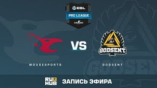 mousesports vs GODSENT - ESL Pro League S6 EU - de_mirage [CrystalMay]