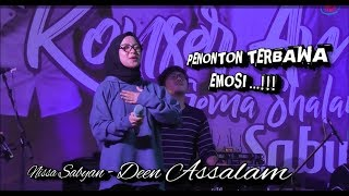Video Nissa sabyan - Deen Assalam di lanjut ya maulana terbaru live Kebumen MP3, 3GP, MP4, WEBM, AVI, FLV Desember 2018