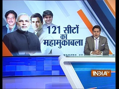 seats - Campaigning for Phase 5 of 121 Lok Sabha, 77 Odisha Assembly seats ends. For more content go to http://http://www.indiatvnews.com/video/ Follow us on facebook at https://www.facebook.com/indiatvne...