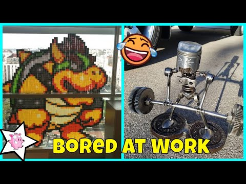 Funny pictures - What To Do When Your Bored At Work