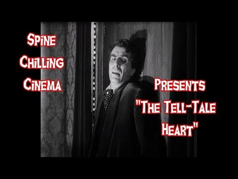 "Spine Chilling Cinema Presents ""The Tell-Tale Heart"" 1960"