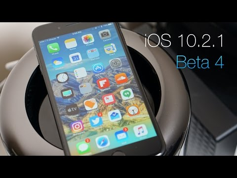 iOS 10.2.1 Beta 4 - What's New?
