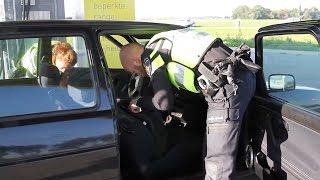 Grote mobiel banditisme controle rond Leeuwarden.