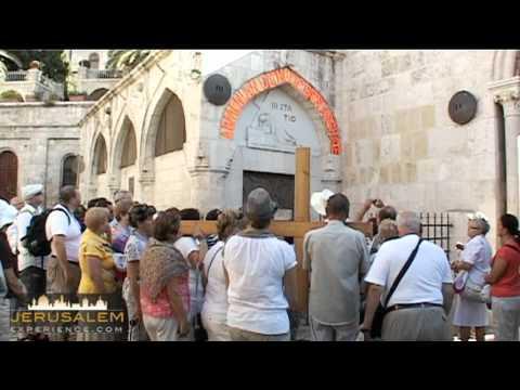 Via Dolorosa - Station 3, 4 and 5 - Jerusalem
