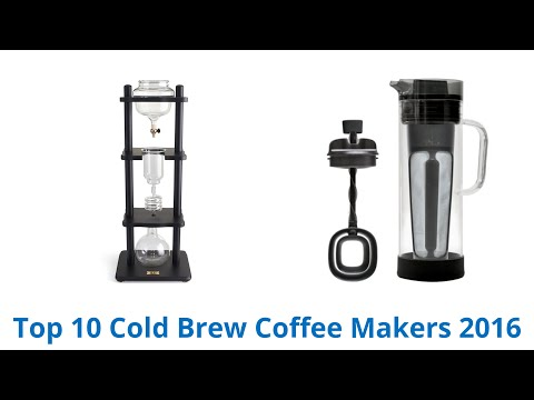 10 Best Cold Brew Coffee Makers 2016