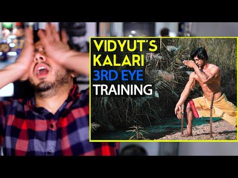 VIDYUT JAMMWAL | Vidyut's Kalari 3rd Eye Training | Kalaripayattu | Reaction by Jaby Koay!